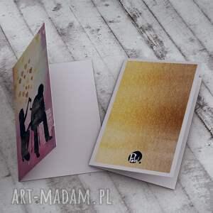 różowe kartki miłość m. i.ł.o.ś.ć... kartka