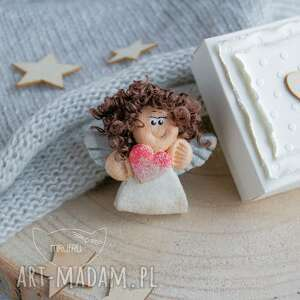 wyjątkowe kartki aniołek mini warstwowa kartka,