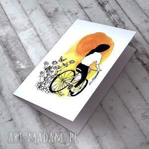 niepowtarzalne kartki karteczka z autorską ilustracją - szczegóły