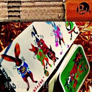 kartki wielkanocne naklejki na karteczki