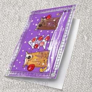 pomysł na prezent świąteczny karti świąteczne - 10 11