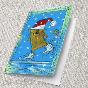 pomysł na prezent świąteczny wydruk kartki własnego autorskiego projektu