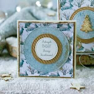 prezenty święta podarek świąteczny - mini kartka