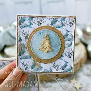 prezenty święta prezent świąteczny podarek - mini kartka