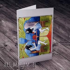 niebieskie kartki imieniny podwieczorek z aniołem