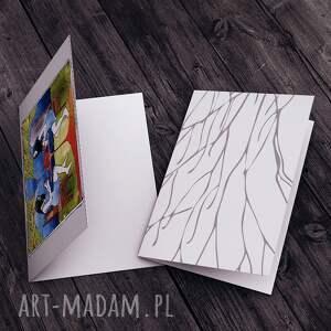 hand made kartki urodziny podwieczorek z aniołem