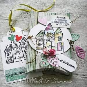 zielone kartki upominek pudełko na prezencik pieniężny