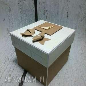 kartki box stylowe eksplodujące pudełeczko