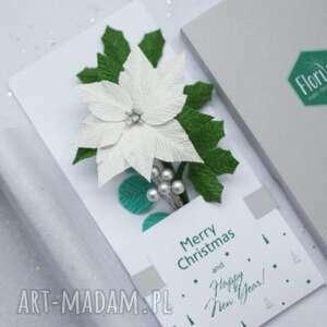 białe świąt unikalne 3d. prezent. christmas