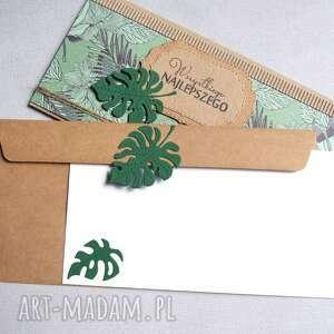 handmade kartki ślub uniwersalna kartka kopertówka