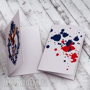 brązowe kartki wielkanocna karteczka z zającem