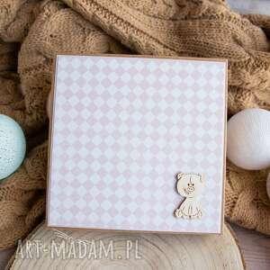 białe kartki urodziny wyjątkowa kartka w pudełeczku