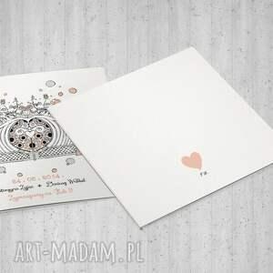 kartki ślubne zaproszenia z bramą ogodową
