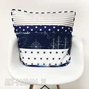 ręcznie robione koce i narzuty narzuta komplet patchwork - stripes and squares piękny