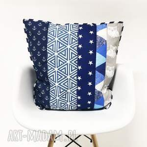 narzuta koce i narzuty niebieskie komplet s&s navy blue and