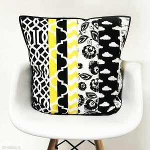 białe koce i narzuty narzuta na łóżko komplet s&s yellow and