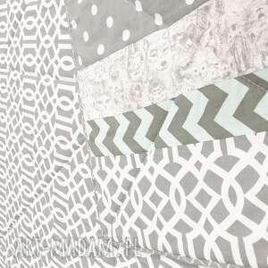 szara narzuta koce i narzuty komplet s&s grey 160x210cm