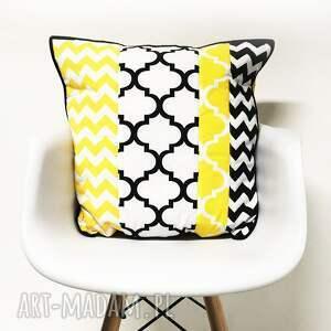 koce i narzuty narzuta żółta komplet s&s yellow and