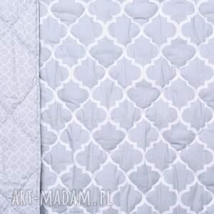 koce i narzuty koniczyna narzuta fresh grey 155x205cm od