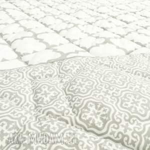 koce i narzuty narzuta marokańska fresh grey white 155x205cm