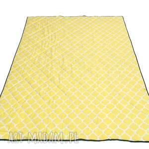 narzuta-orientalna koce i narzuty żółte narzuta oriental elegance 155x205cm
