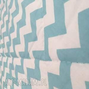 narzuta na łóżko turquoise waves 155x205cm