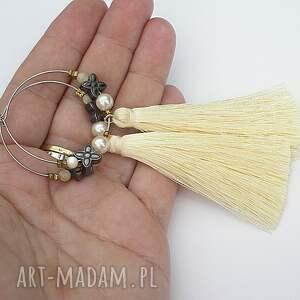 niekonwencjonalne kolczyki boho alloys collection /boho/ vanilla -