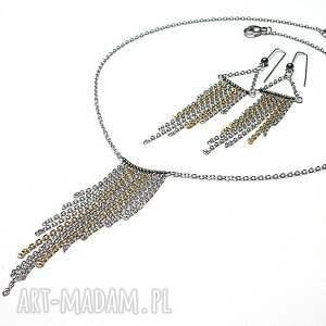 srebrne kolczyki szlachetna alloys collection - /frędzle /
