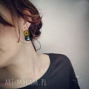 nietuzinkowe sztyfty anemony z perłą