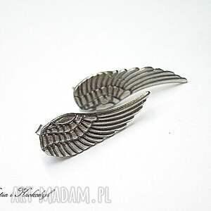 kolczyki srebro angel silver