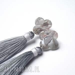 szare srebro boho marble /grey/