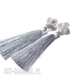 wyjątkowe srebro boho marble /grey/