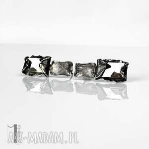 kolczyki kolczyki-sztyfty cubic - srebrne swarovski