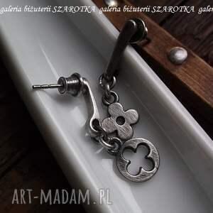 kolczyki srebro dopasowane ze srebra