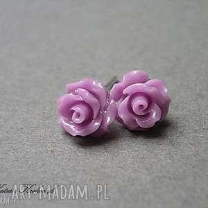 fioletowe srebro róże vol