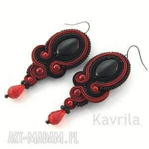 czerwone soutache flamenco