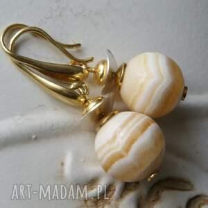 złote kolczyki aragonit jej wysokość