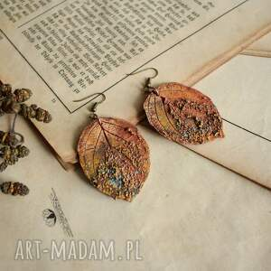 Sirius92 Jesienne kolczyki w kształcie liści - liście dla niej