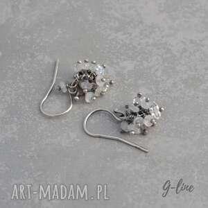 herkimer kamień księżycowy i diamenty