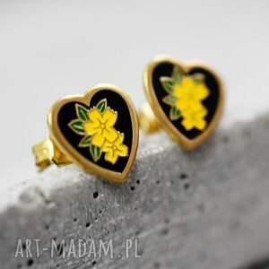 kolczyki serce ♥kim jewelry♥ vintage