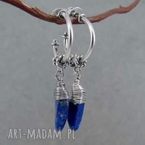 niebieskie koła lapis lazuli hoops