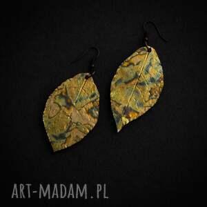 Sirius92 atrakcyjne liść kolczyki liście glamorous