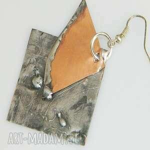 unikalna-biżuteria kolczyki miedziane