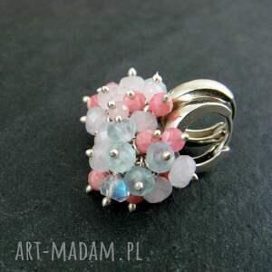 różowe apatyt mini pastelowe