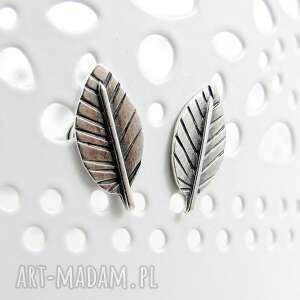 Amade Studio drobne mini silver leaves