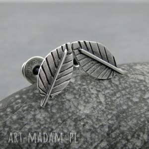 Mini silver leaves - naturalne liscie