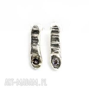 srebrne tanzanit mini