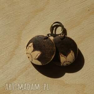 intrygujące wiśnia mini - drewniane wypalane