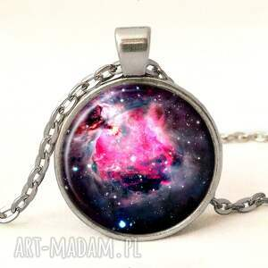nebula kolczyki czarne - duże wiszące