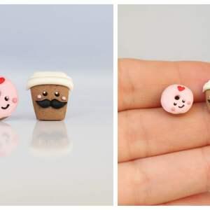 donut białe pan kawa i pani - forever